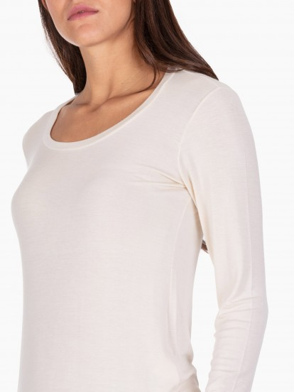 T shirt in modal stretch