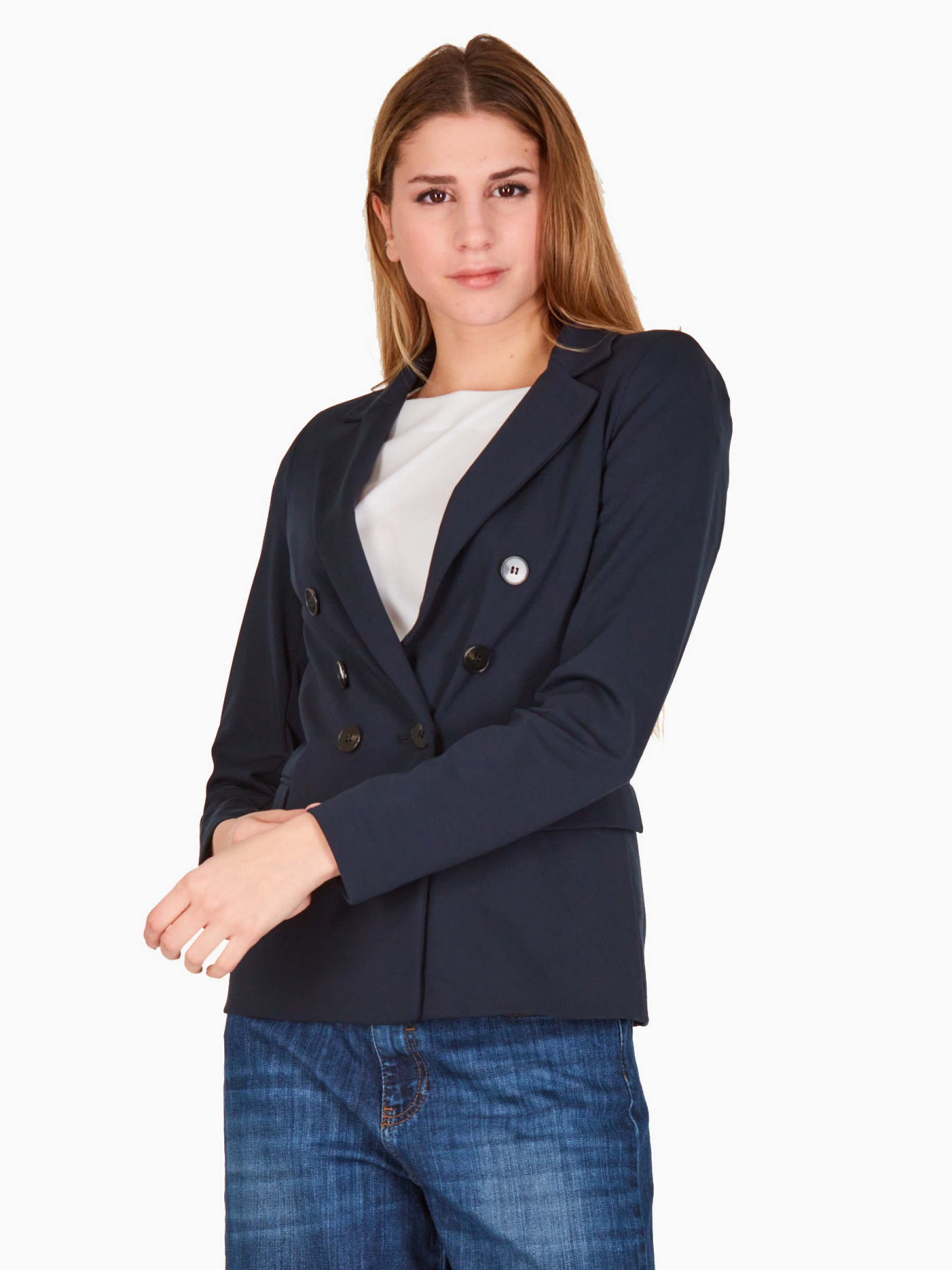 Emme Giacca in jersey PE2021 ISOLA-004-NAVY