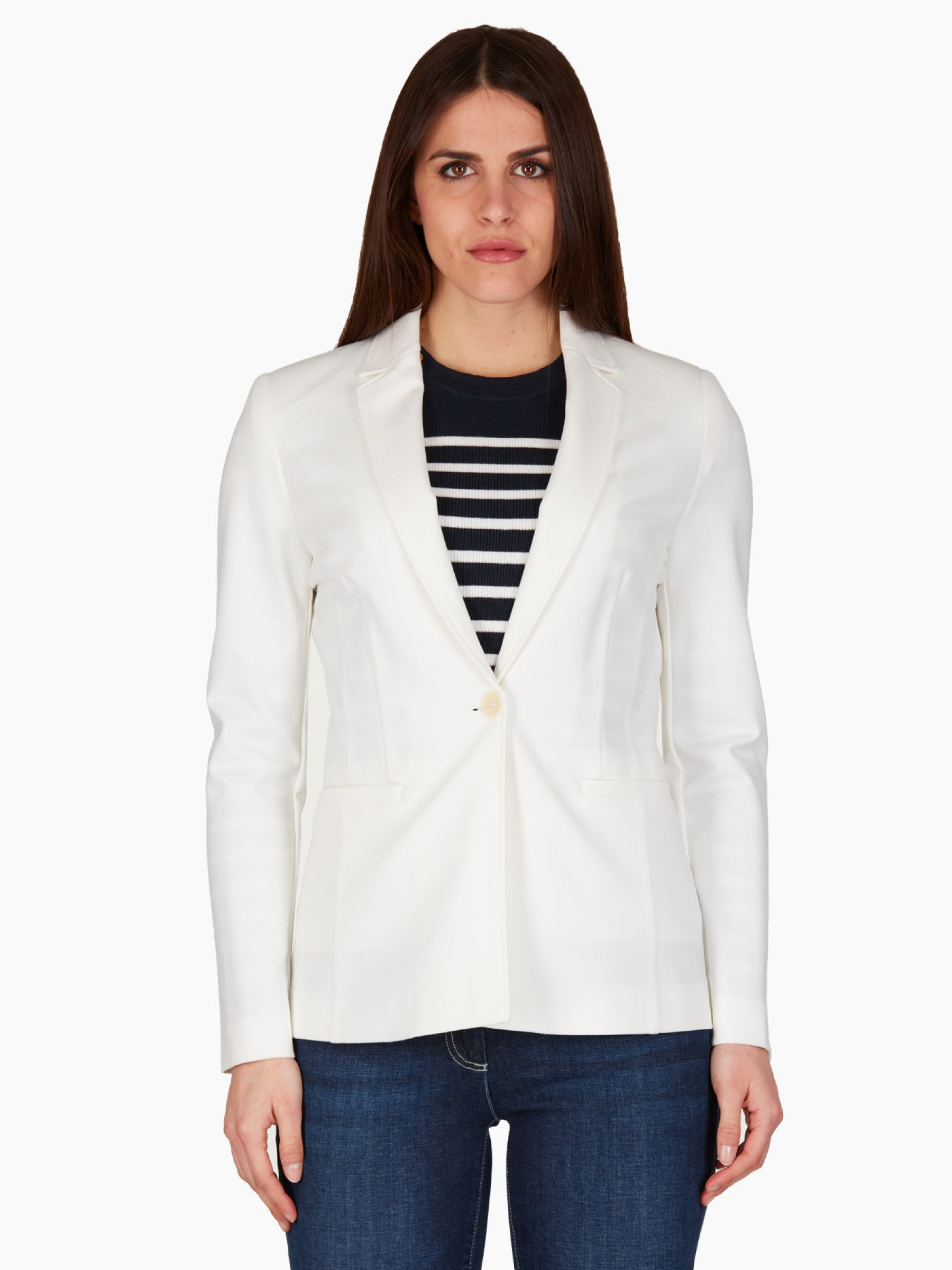 Pennyblack Giacca in jersey PE2021 OPPURE-004-WHITE